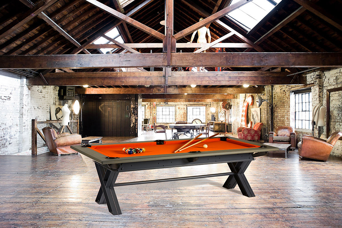 100 billard table salle a manger 100 billard table. Black Bedroom Furniture Sets. Home Design Ideas