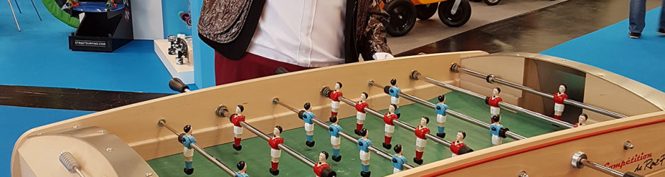 "Rene pierre présent au ""Spielwarenmesse"" à Nuremberg"