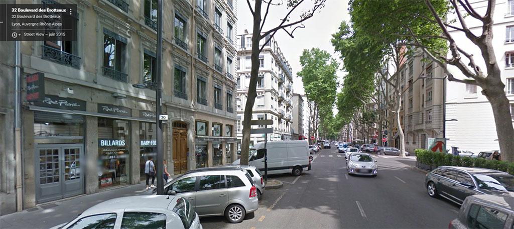 Magasin de billard René Pierre à Lyon