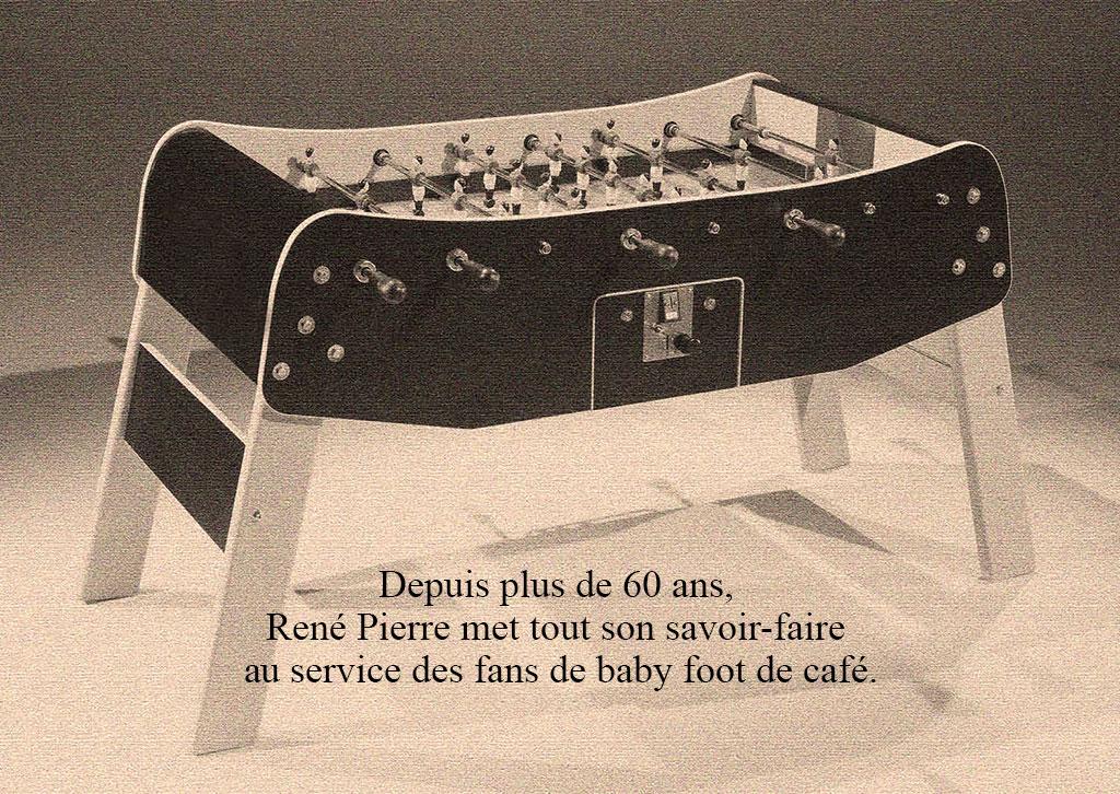 un baby foot ren pierre pour jouer comme au caf. Black Bedroom Furniture Sets. Home Design Ideas