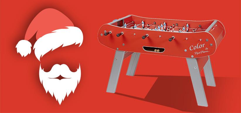 Un babyfoot dans la hotte du Père Noël