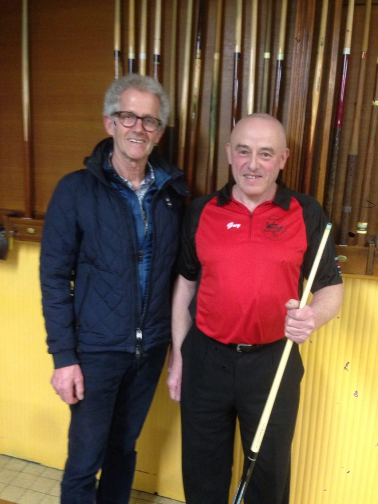 Patrick VUILLEMIN et Guy DUPLOMB, Champion de France billard artistique