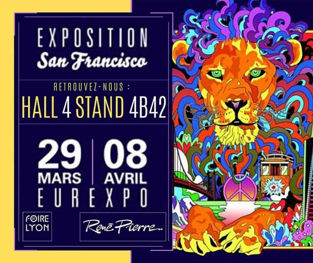 Affiche Foire de Lyon René Pierre