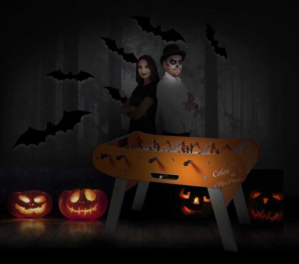 Une partie de babyfoot endiablée pour fêter Halloween !